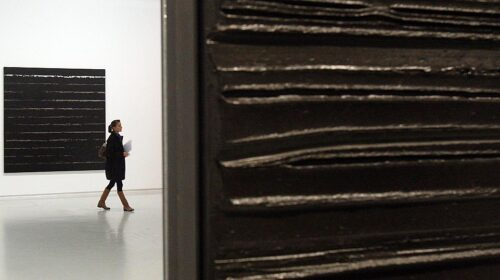 A Soulages Painting That Belonged To Leopold Senghor Is Up For Auction 1 500x280