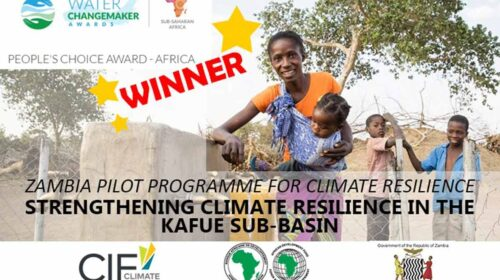 African Development Bank Cif Climate Resilient Project In Zambia Wins Water Changemaker Award 500x280