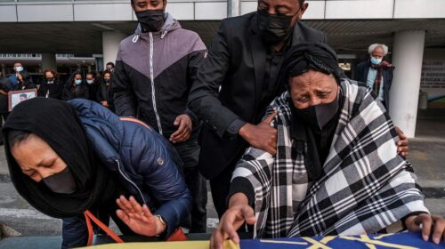 Body Of Ethiopian Woman Killed In Italy Arrives Home 1 500x280