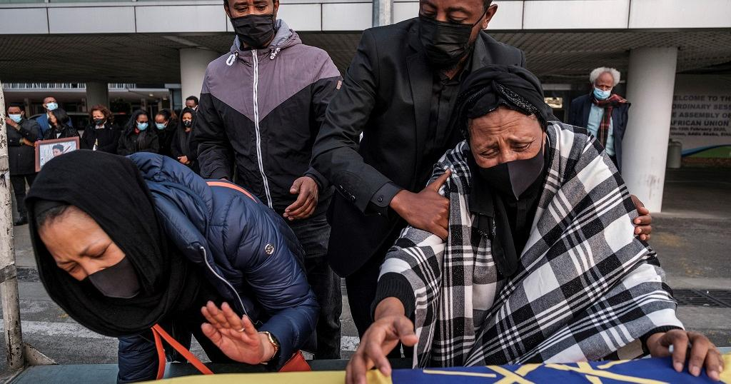 Body Of Ethiopian Woman Killed In Italy Arrives Home 2