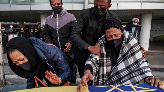 Body Of Ethiopian Woman Killed In Italy Arrives Home