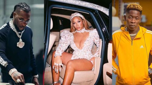Burna Boys Girlfriend Stefflon Don Jams To Shatta Wales Song Amid Their Beef 500x280