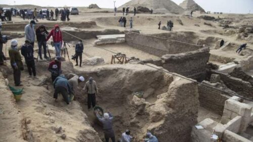 Egypt Temple And Coffins Unearthed At Archaeological Site 500x280