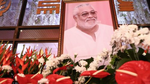 Ghanas Former President Rawlings Laid To Rest 500x280