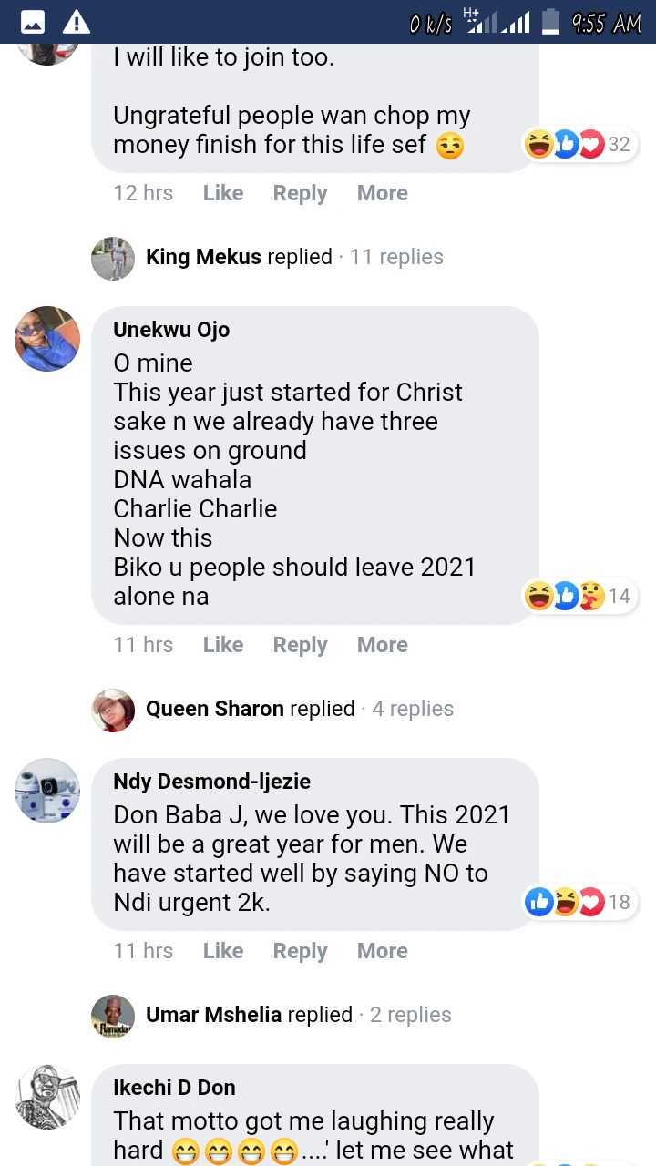 Its Not For Bosses Like You Reactions As Don Jazzy Starts Association For Stingy Men In Nigeria Photo 4