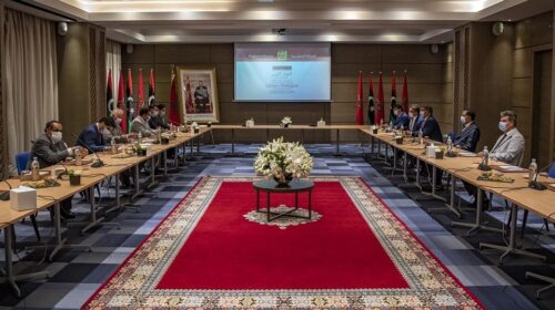 Libyan Rivals Hold New Round Of Talks In Morocco 1 500x280