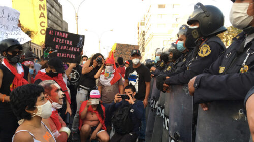 Peru Un Rights Office Decries Excessive Use Of Force In November Protests 500x280
