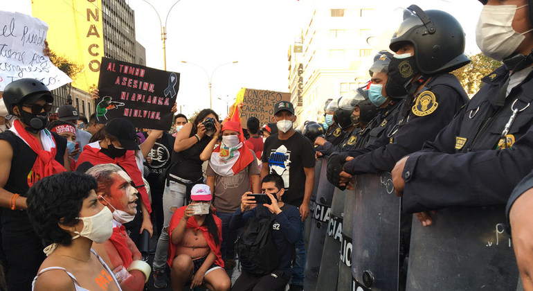 Peru Un Rights Office Decries Excessive Use Of Force In November Protests