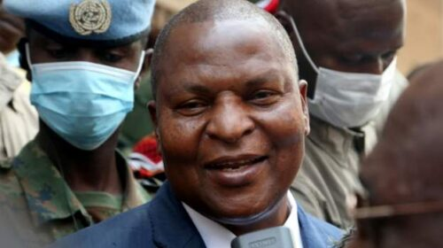 President Of Central African Republic Wins Re Election 500x280