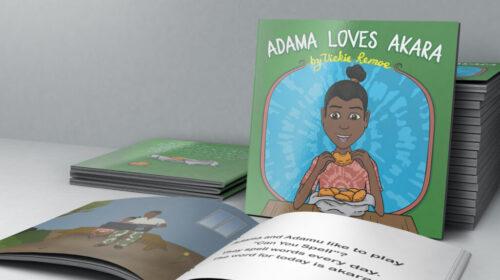 Sierra Leonean Tv Host Releases Kids Book Adama Loves Akara 500x280