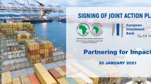Signing Ceremony And High Level Announcement Of Joint Partnership Action Plan Between The European Investment Bank And The African Development Bank 500x280
