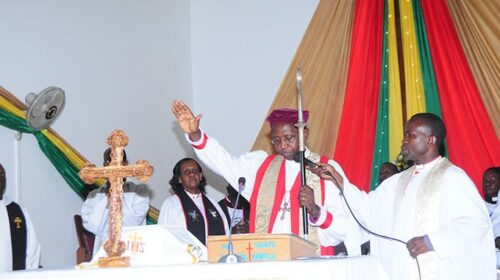 Uganda Renowned Archbishop Suspended For Adultery 500x280